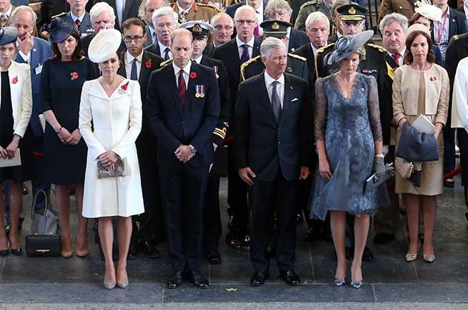 Los duques de Cambridge y los reyes de Bélgica / Gtres