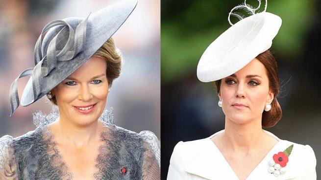 [Vídeo] ¿Por qué ha sido inevitable el enfrentamiento de estilo entre Kate Middleton y Mathilde?