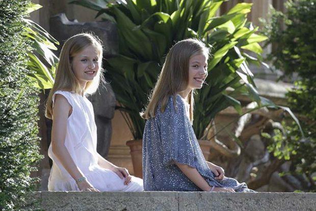 infanta Leonor, princesa Sofía