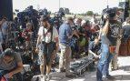 Expectación máxima de la prensa en los juzgados de Pozuelo de Alarcón ante la declaración de Cristiano