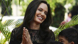 Angelina Jolie durante la presentación de su última película / Gtres