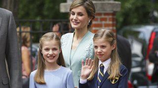 Doña Leticia y la princesa Leonor durante la Comunión de la infanta Sofía / Gtres
