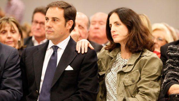 """Miguel Báez """"Litri"""" y Carolina Herrera"""