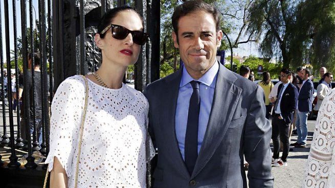 Adriana Carolina Herrera y el torero Miguel Báez