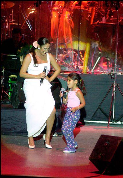 Isabel Pantoja y su hija