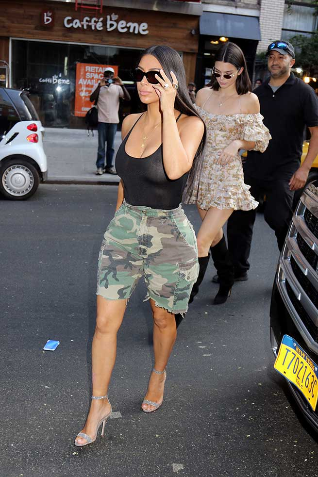 Kim Kardashian y Kendall Jenner / Gtres