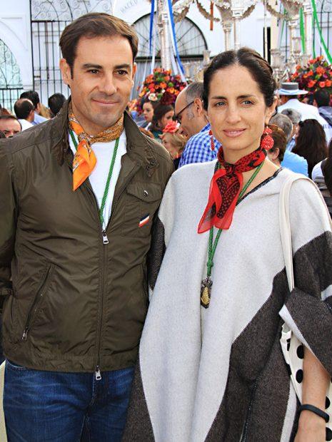 Miguel Báez y Adriana Carolina