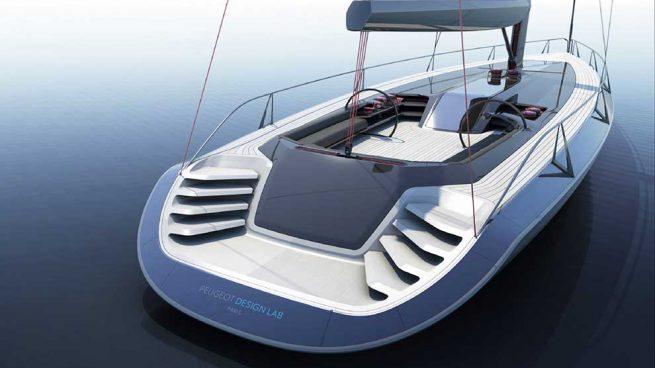 Así será el genuino Peugeot que surcará los mares