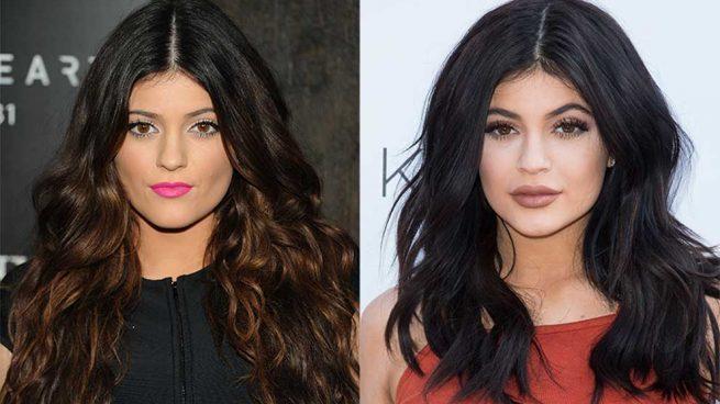 Transformación Belleza Kylie Jenner