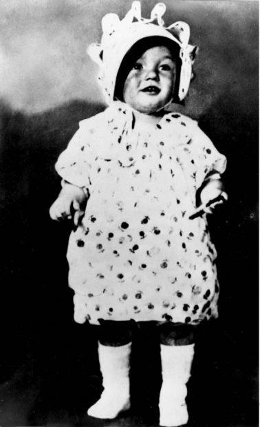 Marilyn Monroe de pequeña / Gtres