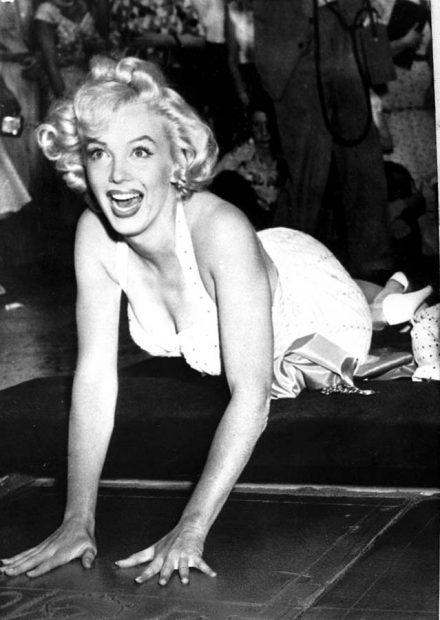 Marilyn Monroe en 1956 / Gtres