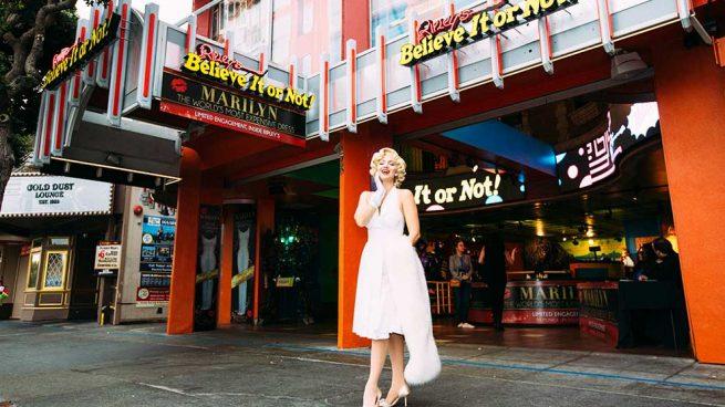 Marilyn Monroe llevó el vestido más caro del mundo / Gtres