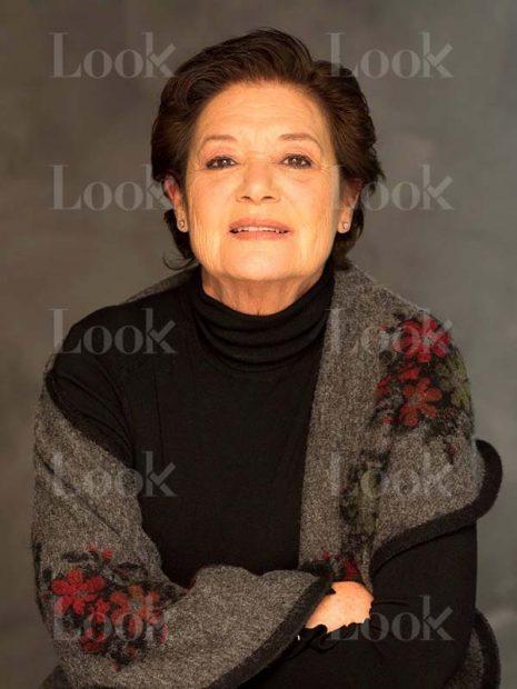 La actriz Teresa Rabal en su último posado