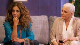 Lolita con Lola Herrera en su primer programa de 'Lolita tiene un plan' / RTVE