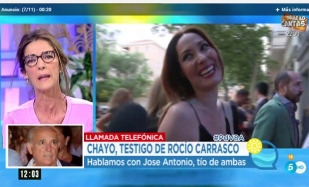 Intervención del tío de Rosario Mohedano