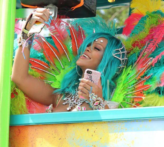 Rihanna en el carnaval de Barbados / Gtres