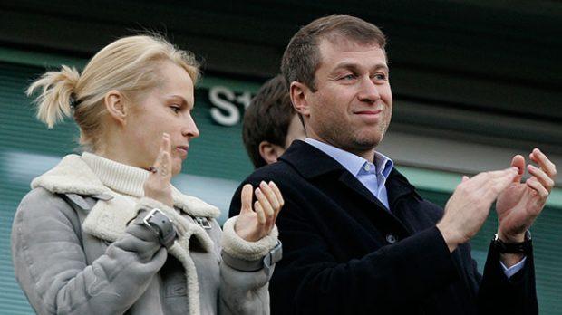 Roman Abramovich con Irina
