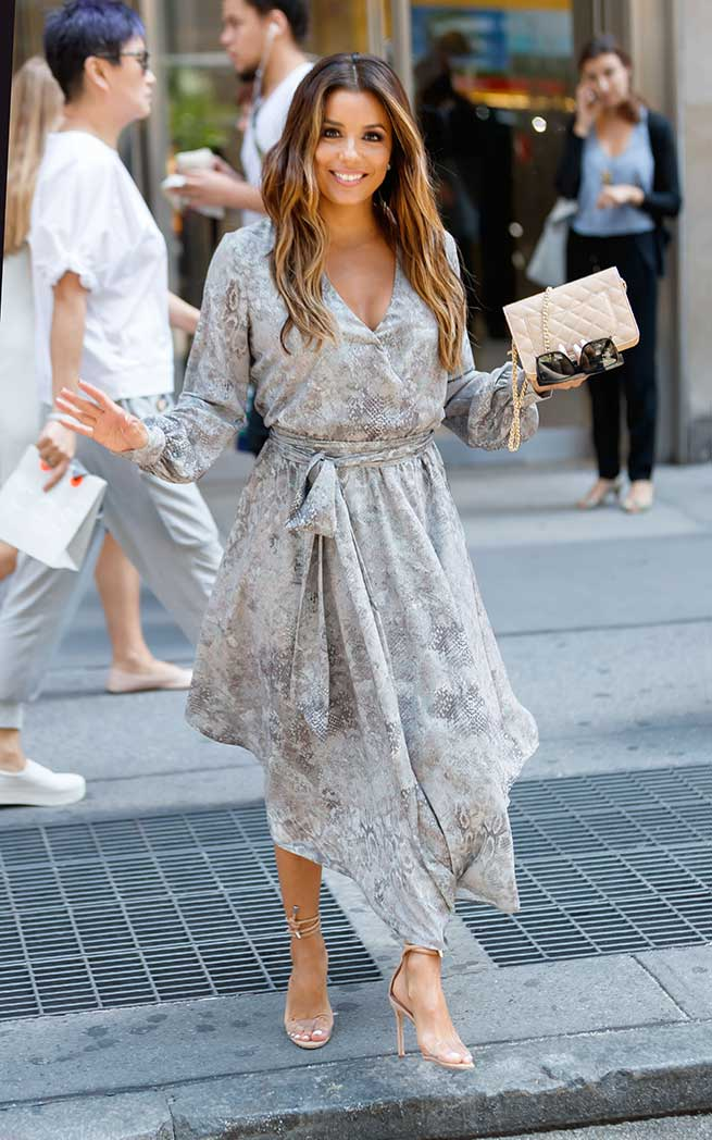 Eva Longoria por las calles de New York / Gtres