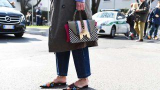Los mules, el calzado de moda / Gtres