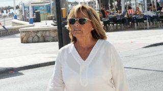 María Teresa Campos paseando por Málaga en imagen de archivo / Gtres