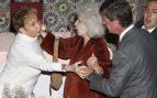 Con la duquesa de Alba y su hijo Cayetano Martínez de Irujo