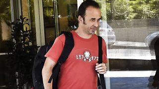 Francesco Arcuri, exmarido de Juana Rivas, en Madrid tras su primera entrevista en televisión / Gtres
