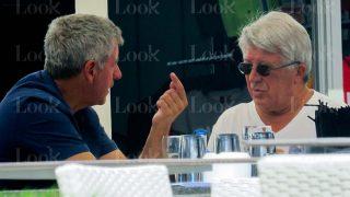 GALERÍA: Cerezo y Gil Marín se relajan en Ibiza antes de la inauguración del Wanda Metropolitano / Gtres