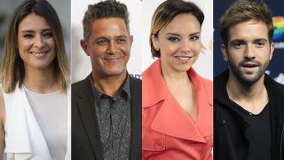 Algunos de los famosos que han mostrado sus condolencias /Fotomontaje LOOK