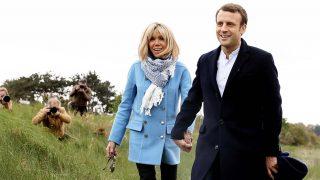 Brigitte y Macron en una imagen de archivo / Gtres
