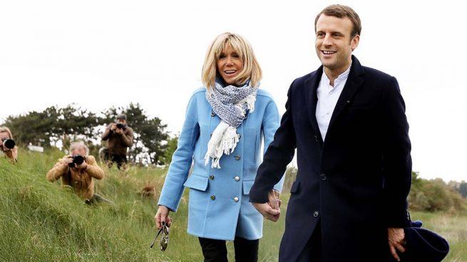 Brigitte y Macron, atípicas vacaciones en Marsella