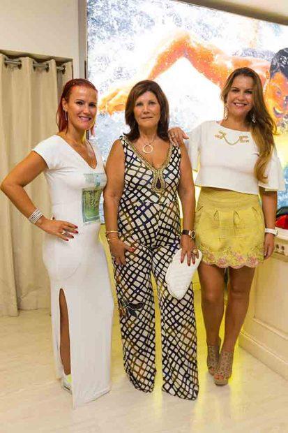 Elma Aveiro, Dolores Aveiro, Katia Aveiro