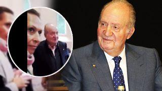 Encuentro entre el rey Juan Carlos y Marta Gayá / Youtube