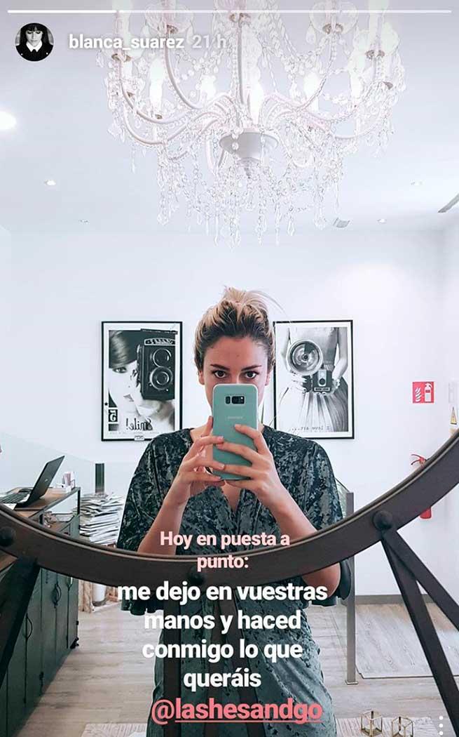 Instagram @blanca_suarez