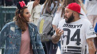 Kiko Rivera e Irene Rosales durante su viaje a Disneyland París / Gtres
