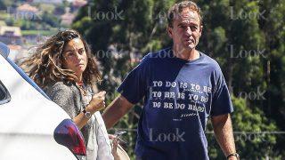 Alessandro Lecquio y María Palacios durante unas vacaciones en Pontevedra / Gtres