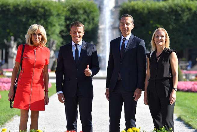 Visita oficial de los Macron a Salzsburgo / Gtres