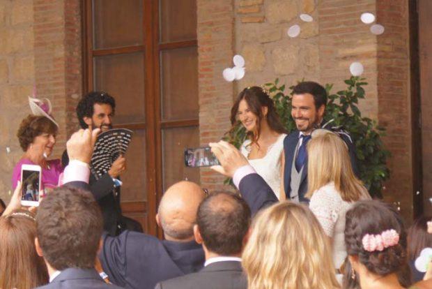 EN IMÁGENES   Los secretos que se esconden tras la mágica boda de Alberto Garzón y Anna Ruiz