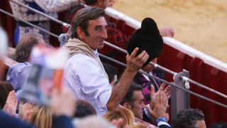 Dámaso González durante una corrida de toros en Albacete /Gtres
