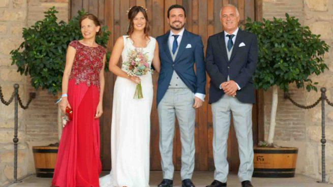 Alberto Garzón boda