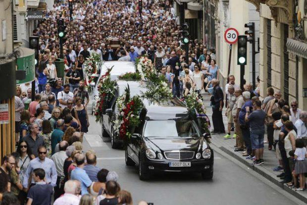 Lágrimas y dolor en el último adiós a Dámaso González en su tierra natal