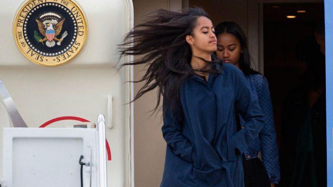 El lado más agresivo de Malia Obama