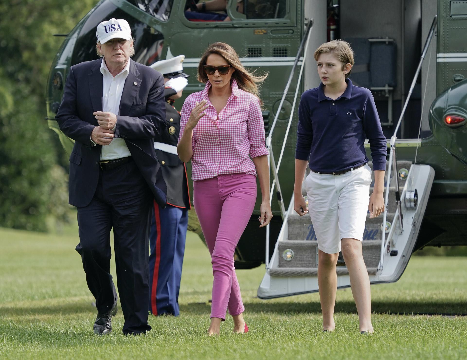 Melania Trump Look Rosa