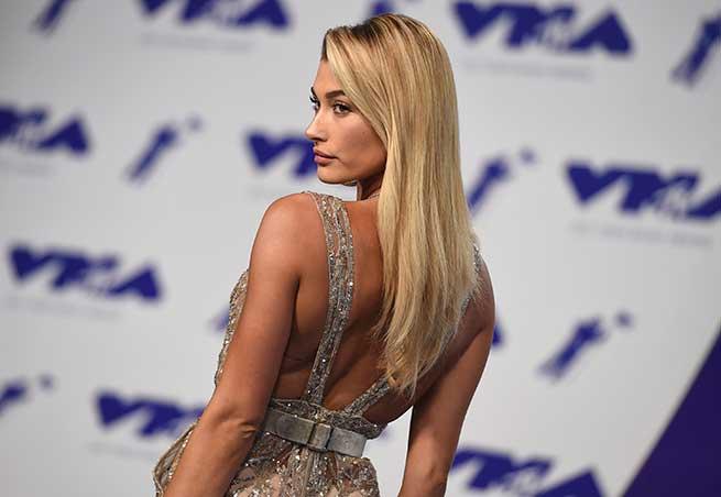 Hailey Baldwin en los VMA / Gtres