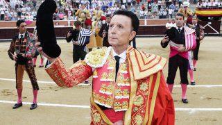 El torero José Ortega Cano durante su despedida de los ruedos /Gtres