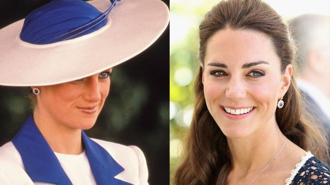 Diana de Gales, Kate Middleton