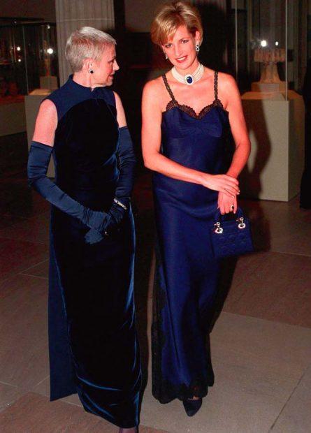 Diana de Gales y Karl Lagerfeld: Una relación de mutuo desprecio