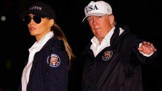 Melania y Donald Trump en Houston / Gtres