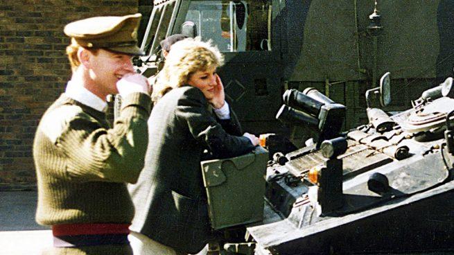 Diana de Gales y James Hewitt