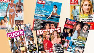 Las revistas del miércoles /Fotomontaje LOOK (PINCHAR EN IMAGEN PARA VER GALERÍA)
