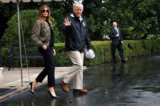Melania y Donald Trump / Gtres